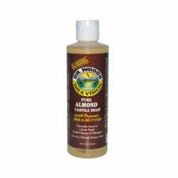 Shea Vision Pure Almond Castile Soap, 8 fl oz (236 mL) Liquid