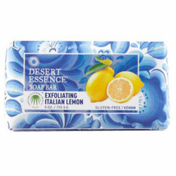 Soap Bar  Exfoliating Italian Lemon, 5 oz (155.5 grams) Bar(s)
