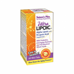 Ultra Lipoic  Alpha Lipoic And RLipoic Acid, 60 Tabs