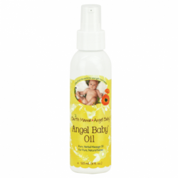 Angel Baby Oil, 4 fl oz (120 mL) Liquid