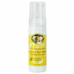 Natural NonScents Shampoo & Body Wash  Unscented Calendula, 5.3 fl oz (160 mL) Liquid