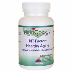 NT Factor Healthy Aging with Mitochondrial Fuel, 120 Tabs