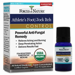 Organic Athletes FootJock Itch Control, 11 mL Liquid