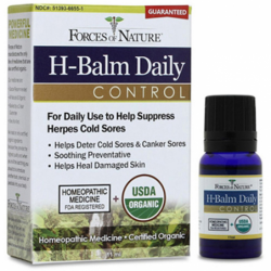 Organic HBalm Daily Control, 11 mL Liquid