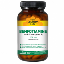 Benfotiamine with Coenzyme B1, 150 mg 60 Veg Caps