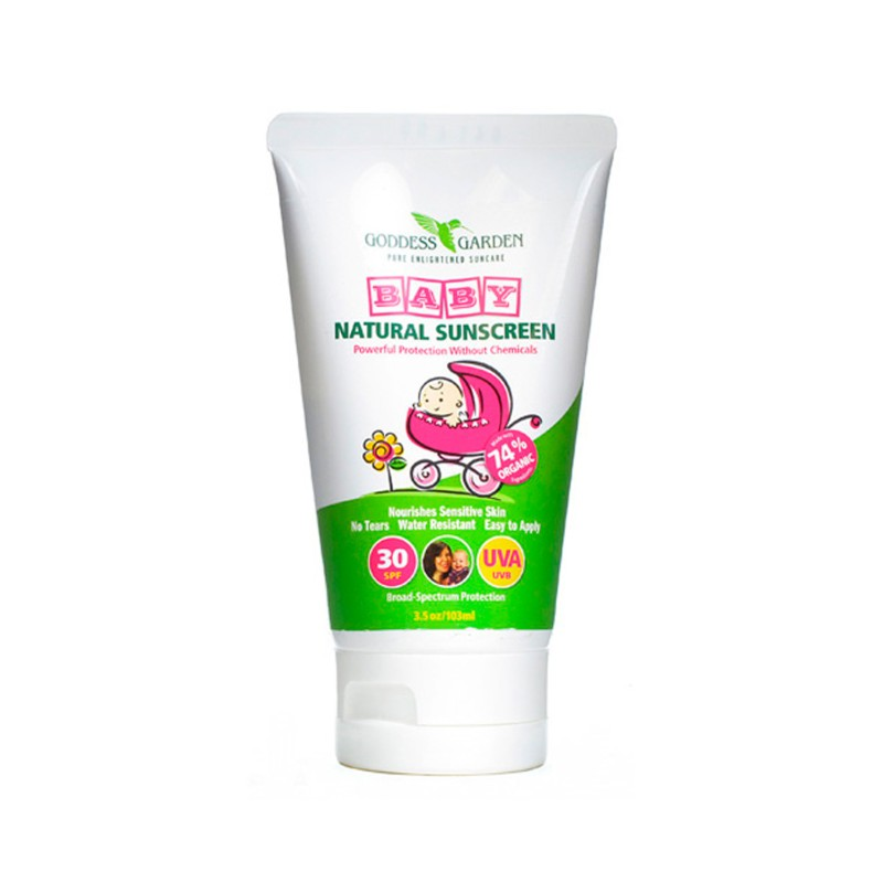 Baby Natural Sunscreen  SPF 30, 3.5 oz Lotion