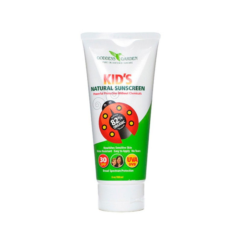 Kids Natural Sunscreen  SPF 30, 6 oz Lotion