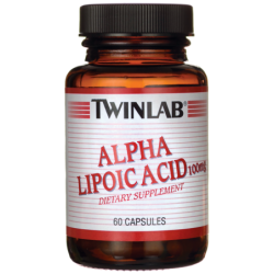 Alpha Lipoic Acid, 100 mg 60 Caps