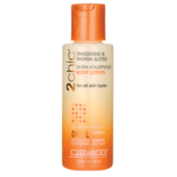 2Chic Tangerine & Papaya Butter UltraVoluptuous Body L, 1.5 fl oz (44 mL) Lotion