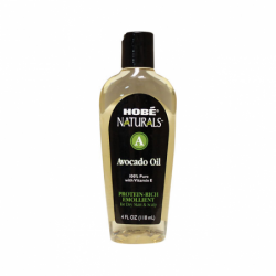 Hobe Naturals Avocado Oil, 4 fl oz Liquid