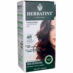 Permanent Haircolor Gel 4R Copper Chestnut, 1 Box