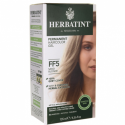 Permanent Haircolor Gel FF5 Sand Blonde, 1 Box