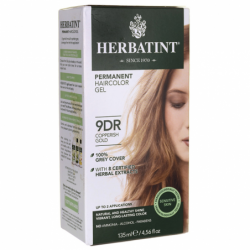 Permanent Haircolor Gel 9DR Copperish Gold, 1 Box