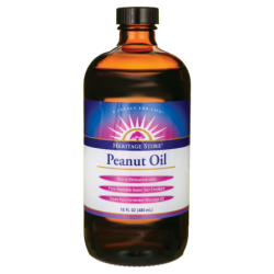 Peanut Oil, 16 fl oz (480 mL) Liquid