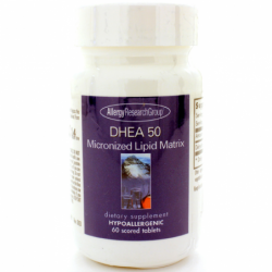 DHEA 50 Micronized Lipid Matrix, 50 mg 60 Tabs