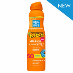 Kiss My Face Kids Defense Spray SPF 50, 6 fl oz (177 mL) Liquid
