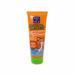 Kiss My Face Kids 2in1 Shampoo and Conditioner, 8 fl oz (236 mL) Liquid