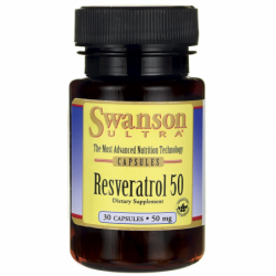Resveratrol 50, 50 mg 30 Caps