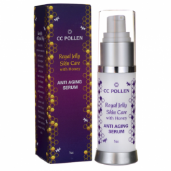 Royal Jelly Skin Care with Honey  Anti Aging Serum, 1 fl oz Serum