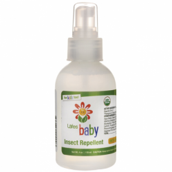 Natural and Organic Baby Insect Repellent, 4 oz Liquid