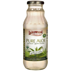 Organic Pure Aloe with Lemon, 12.5 fl oz (370 mL) Liquid