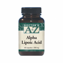 Alpha Lipoic Acid, 300 mg 60 Caps