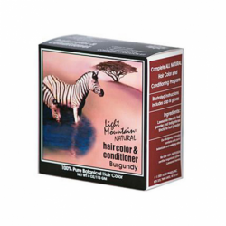 Hair Color & Conditioner  Burgundy, 1 Box
