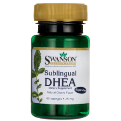 Sublingual DHEA SugarFree, 25 mg 60 Lozenges