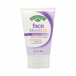 Face Block Sunscreen Lotion SPF 25, 4 fl oz (118 mL) Lotion
