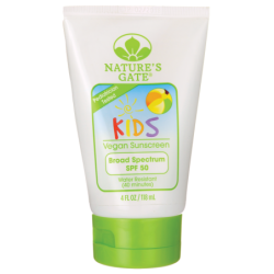 Kids Broad Spectrum SPF 50 Vegan Sunscreen, 4 fl oz (118 mL) Lotion