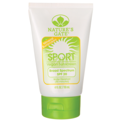 Sport Broad Spectrum SPF 20  Vegan Mineral Sunscreen, 4 fl oz (118 mL) Lotion