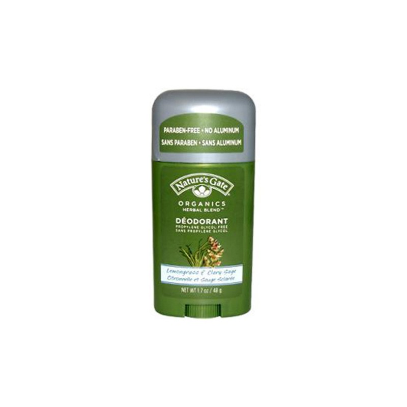 Deodorant  Lemongrass & Clary Sage, 1.7 oz (44 grams Stick(s)