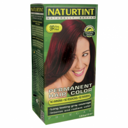 Permanent Hair Color  9R Fire Red, 1 Box