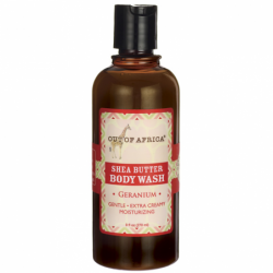 Shea Butter Body Wash  Geranium, 9 fl oz (270 mL) Liquid