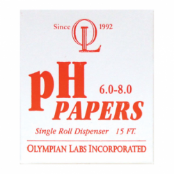 pH Papers 6080 15 ft, 1 Unit