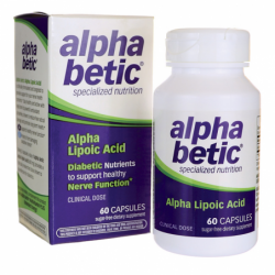 Alpha Betic Alpha Lipoic Acid, 60 Caps