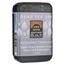 Dead Sea Spa Activated Charcoal Mineral Soap, 7 oz (200 grams) Bar(s)