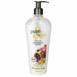 Natural Hand & Body Lotion  Pomegranate Ginger, 12 fl oz Lotion