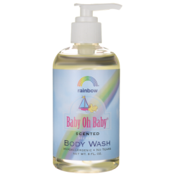 Baby Oh Baby Body Wash  Scented, 8 fl oz Liquid
