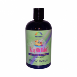 Baby Oh Baby Colloidal Oatmeal Unscented Body Wash, 12 fl oz Liquid