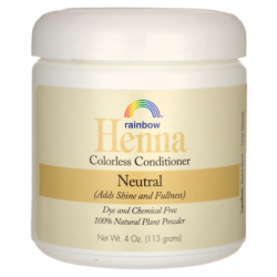 Henna Colorless Conditioner  Neutral, 4 oz (113 grams) Liquid