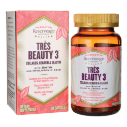 Tres Beauty 3 with Biotin and Hyaluronic Acid, 90 Caps
