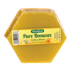 Pure Beeswax, 16 oz (454 grams) Unit