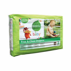 Chlorine Free Diapers Stage 2, 36 Ct