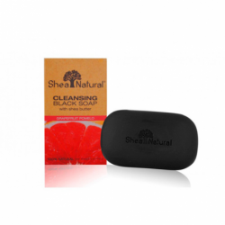 Cleansing Black Soap with Shea Butter  Grapefruit Pomelo, 5 oz (141 grams) Bar(s)