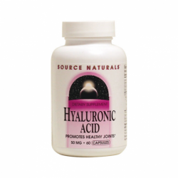 Hyaluronic Acid, 50 mg 60 Caps