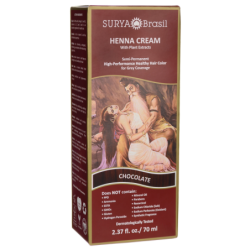 Henna Cream With Plant Extracts Hair Color  Chocolate, 1 Box