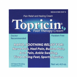 Topricin Foot Therapy Cream, 4 oz Cream