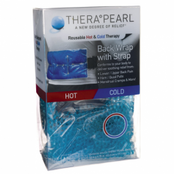 Reusable Hot & Cold Therapy Back Wrap with Strap, 1 Unit