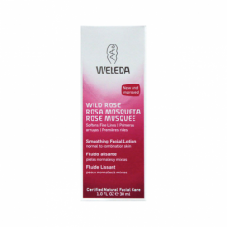 Wild Rose Smoothing Facial Lotion, 1 oz Cream
